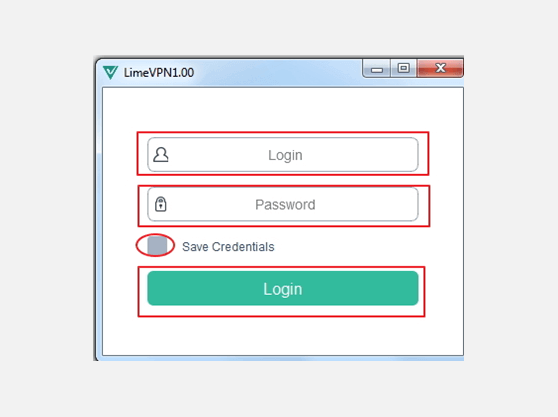 VPN for Windows with LimeVPN Client