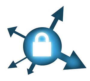 VPN protected connection