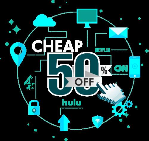 Best Cheap VPN at 50% OFF