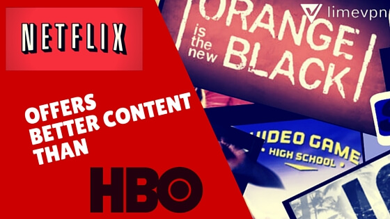 Netflix offers now better content than hbo -a tv survey says