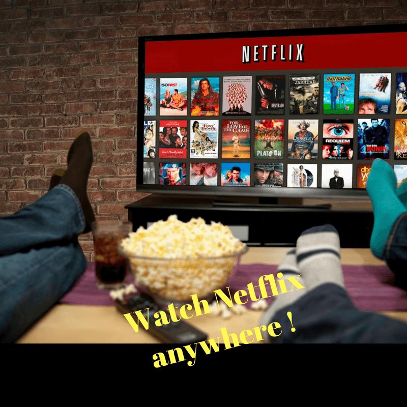 Watch Netflix anywhere